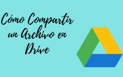 Cómo Compartir un Archivo en Drive: 3 Métodos Distintos