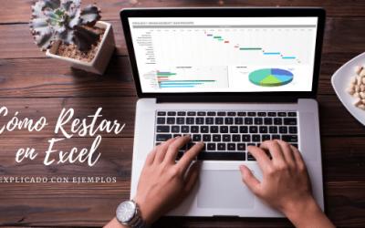 Cómo Restar en Excel: Explicado con Ejemplos