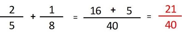 como sumar fracciones para dommies