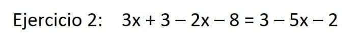 ecuaciones con varias x