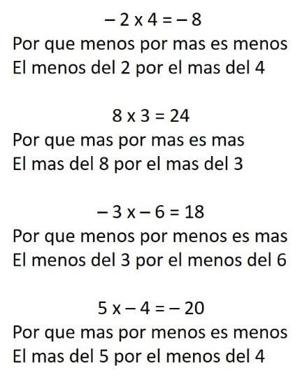ejemplo de multiplicacion de simbolos