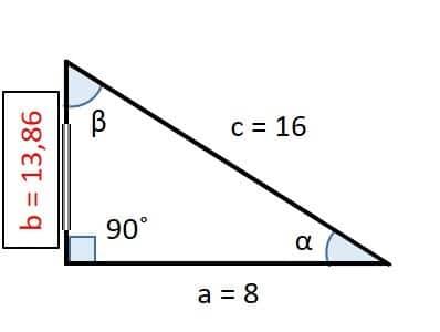 resultado ejercicio de triangulos