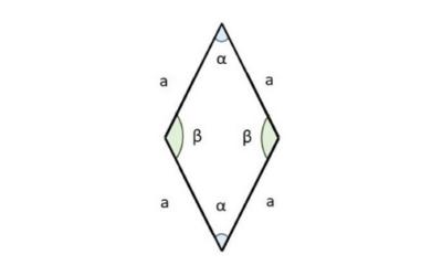 Cómo Calcular el Área de un Rombo