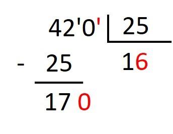 Dividir con Divisor decimal