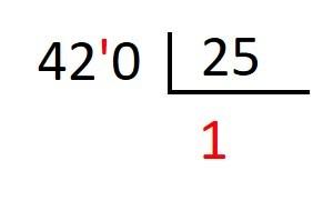como dividir con divisor decimal
