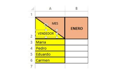Cómo Dividir una Celda de Excel en Diagonal