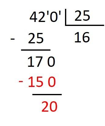 ejercicio de Division con divisor decimal