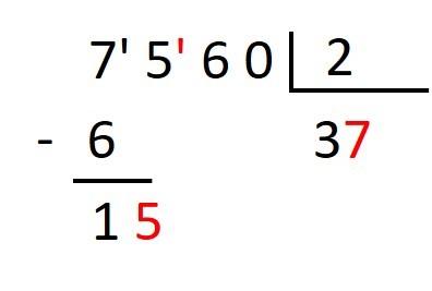 ejercicio de dividir entre decimales
