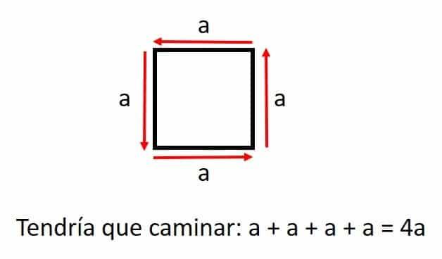 perimetro de un cuadrado