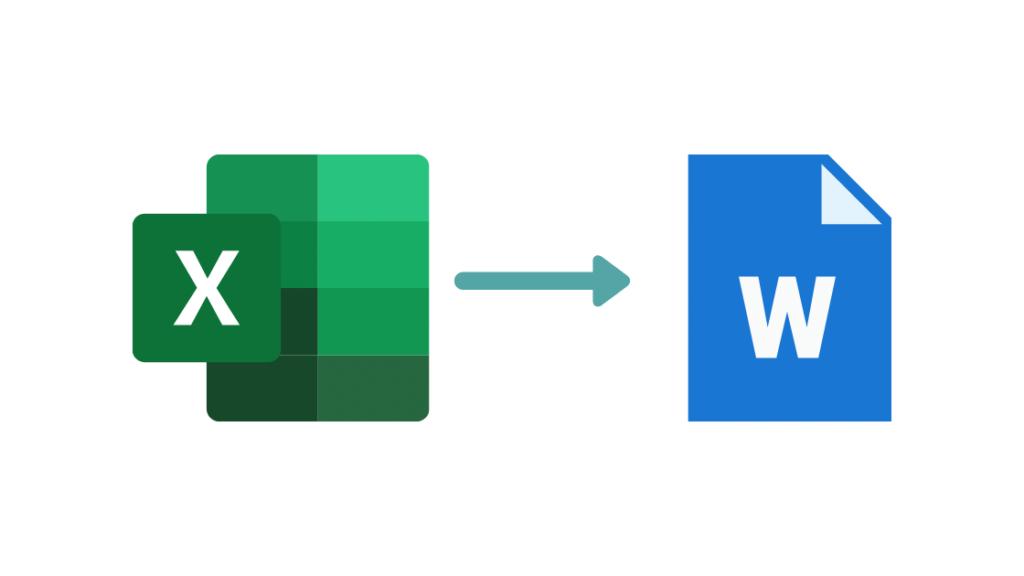 Cómo Pasar una Tabla de Excel a Word