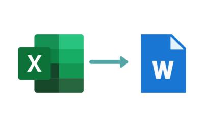 Cómo Pasar una Tabla de Excel a Word: Todos los Pasos