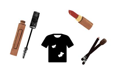 Cómo Quitar Manchas de Maquillaje de la Ropa: ¿Es posible?