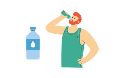 Como Beber más Agua: 7 Trucos para Beber 2 Litros Diarios!